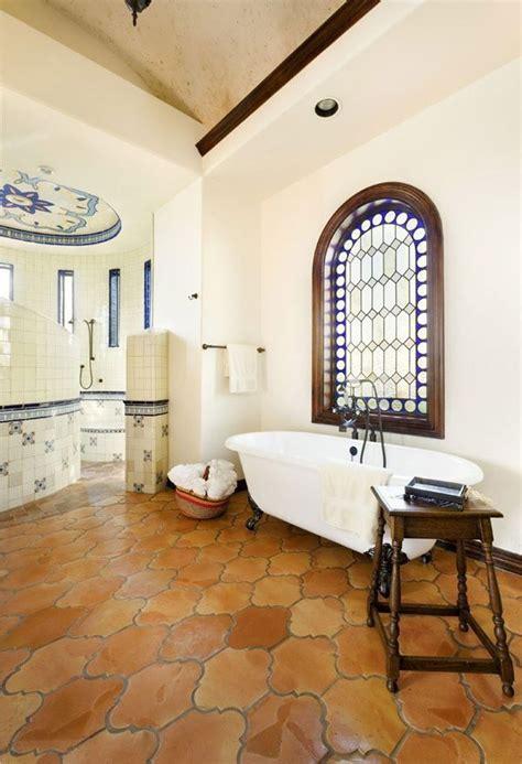 mexican decor saltillo tiles   lovely bathroom