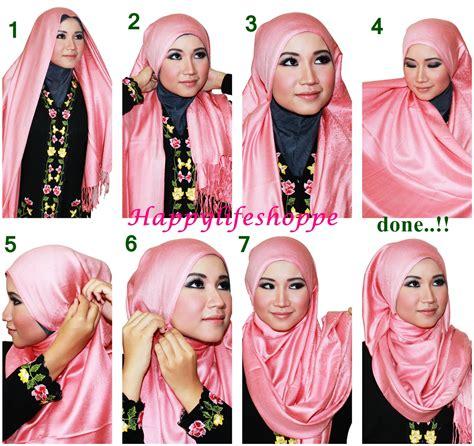 tutorial pashmina rawis simple hijab tutorial forget me not