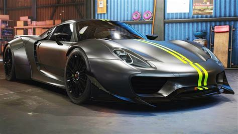 Widebody Porsche 918 Spyder Need For Speed Payback