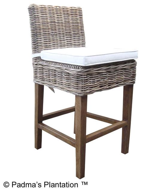 bar stools boca raton boca counterstool kubu beach style bar stools and