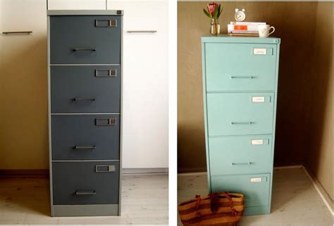 spray paint file cabinet paint a filing cabinet crafty fun pinterest