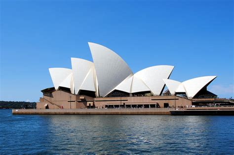 australia opera house photo sydney opera house profile sydney australia