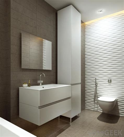 Modern Bathroom Grey Walls What Do I Need To Become An Interior Designer Cheap