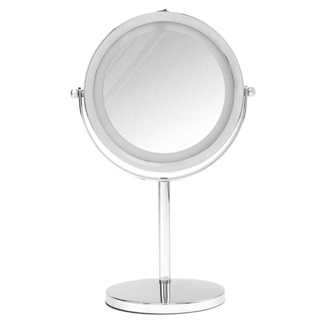 Double Sided Bathroom Mirror | beldray double sided led mirror bathroom mirror