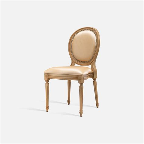 stackable medallion chair for hotel restaurant bar louis xvi collinet
