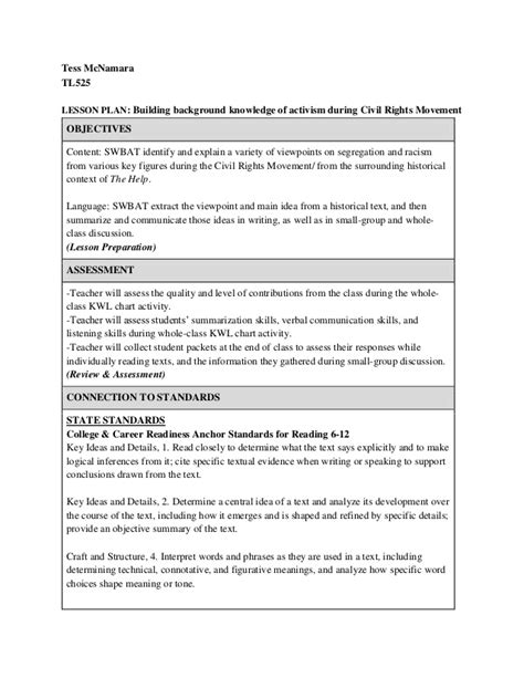 biography lesson plan objectives lesson plan 2 building background knowledge
