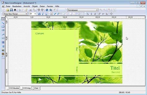 cover design nero download nero coverdesigner 12 0 3 0 download freeware de