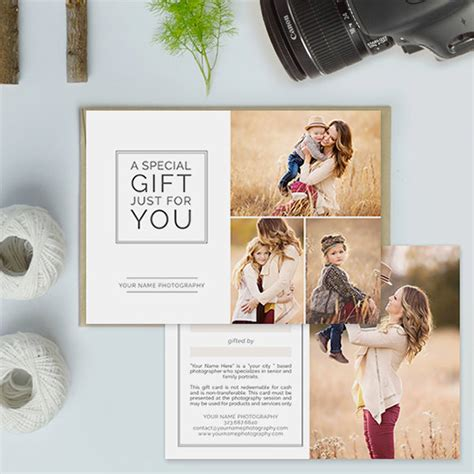 gift certificate template for photographers gift card template 15 free sle exle format