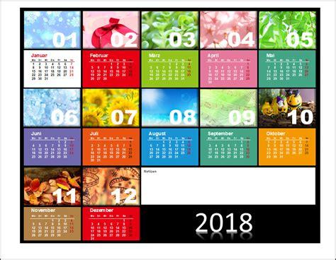 Design Vorlagen Kalender powerpoint kalendervorlagen 2018 office lernen