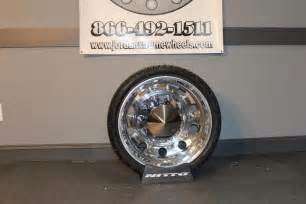 Dually Truck Wheels Tires 22 22 5 24 24 5 Dually Alcoa Big Wheel Package Tires