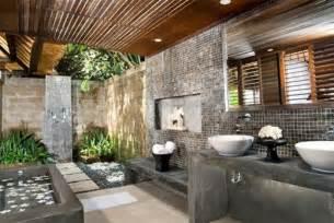Formidable Revetement Sol Salle De Bain Pas Cher #2: 3-la-meilleure-salle-de-bain-zen-mur-en-briques-gris-salle-de-bain-idees.jpg