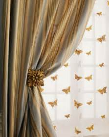 Sheer Butterfly Curtains Nmf16 H3utx