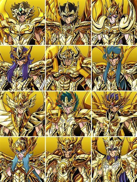 fuentes de informacin los 12 caballeros de oro imagenes saint seiya soul of gold con cubecraft pasa