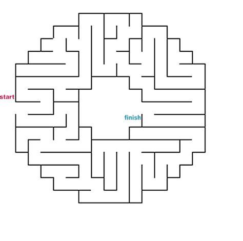 Promo Maze Angka New mazes to print easy wheel mazes