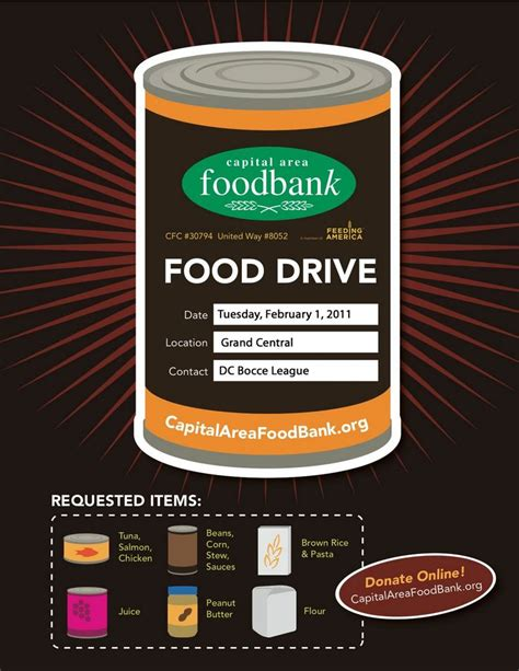 Cache Community Food Pantry by Food Drive Poster Images Aim Hunger Ministries