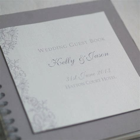 layout guest book vintage lace design wedding guestbook by beautiful day