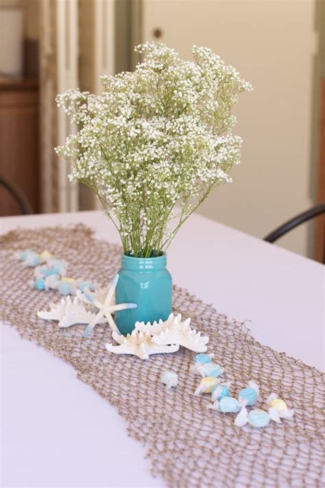 the sea centerpieces the sea baby shower decorations finding nemounder