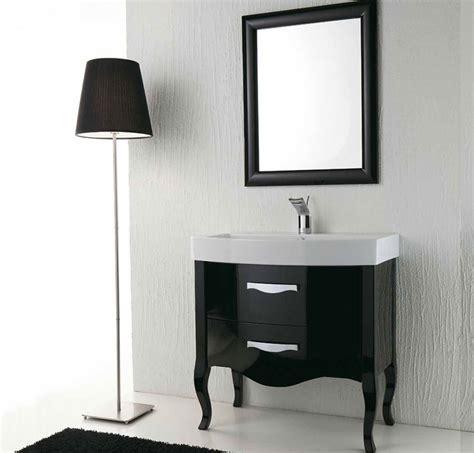 mobili bagno neri arredo bagno nero lucido zeus