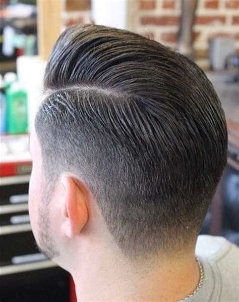 back of guys hairstyles mens fade hairstyles back view men s hair pinterest