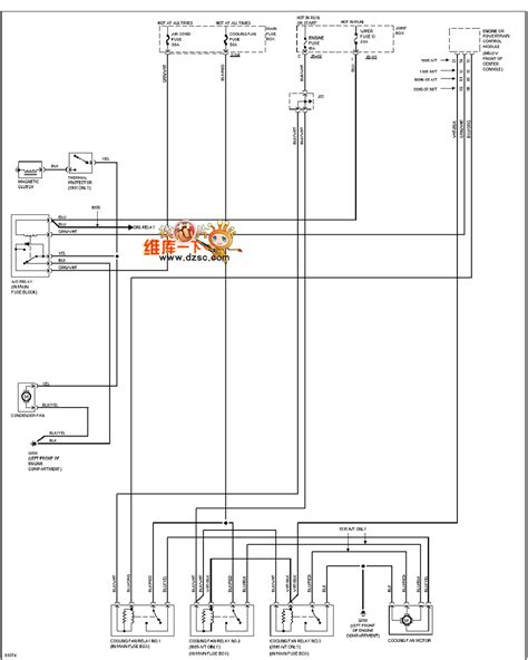 Mazda 626 2 0l Cooling Fan Circuit Diagram Automotive