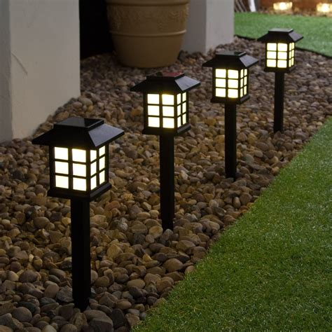 best solar garden lights best solar landscape lights cool white light led solar