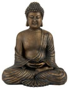 Antique Kitchen Faucet 12 quot japanese meditating buddha statue asian home decor