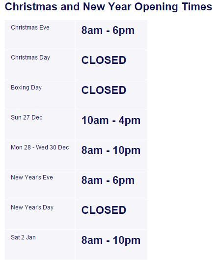 aldi opening times when are the supermarkets open again on boxing day