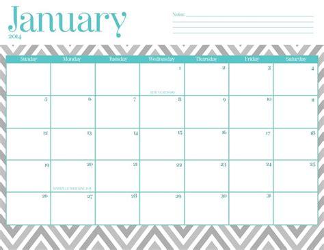 January 2014 Calendar Template 2016 calendar wallpaper preschool ideas