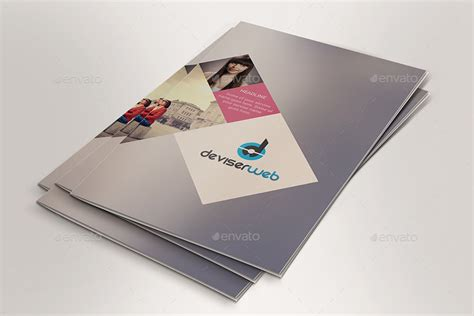 two fold brochure template psd minimal creative bi fold brochure templates by rtralrayhan