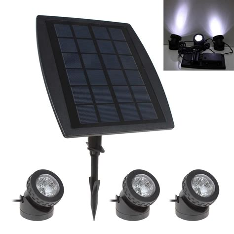 Solar Garden Lights Sale Sale Bsv Sl318 3 X 6 White Light Leds Waterproof