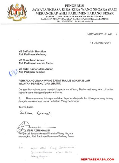 malaysians must the surat ketua audit negara