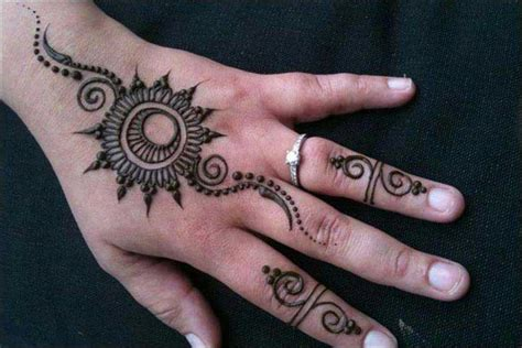 henna design circle 25 beautiful ring mehndi designs for your hands