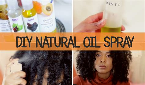 homemade treatment for winter hair winter weather diy natural oil spray for dry hair and