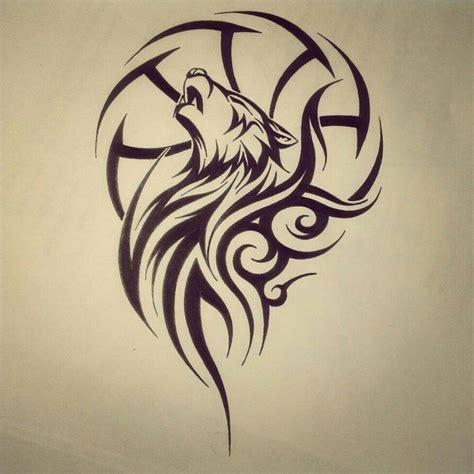pin de ricardo rico en drawings tribales tattoo lobo