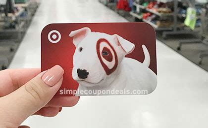 Where To Purchase Target Gift Cards - 10 off target gift cards up to 300 purchase today only simple coupon deals