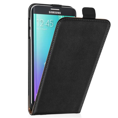 Flip Cover Flip Samsung Galaxy S6 Edge caseflex samsung galaxy s6 edge plus real leather flip