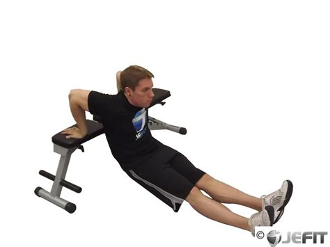 bench dips chest single bench dip exercise database jefit best android and iphone workout