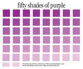 Shades Of Colors Shades Of Purple Color Names Www Galleryhip Com The