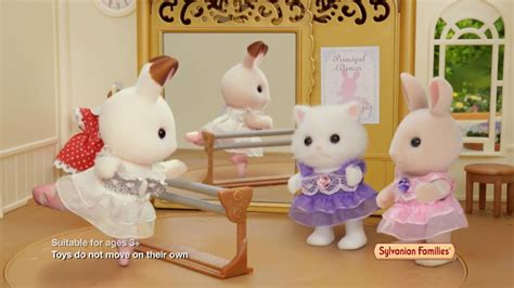 Sylvanian Families Ballerina Friends toyworld au sylvanian families ballet theatre