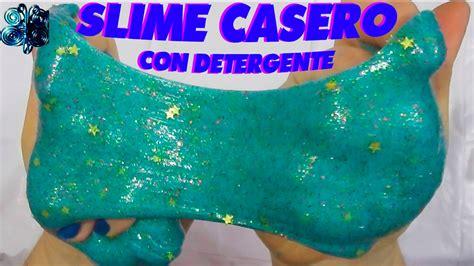 tutorial para hacer slime como hacer slime casero sin borax con detergente liquido