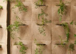 Vertical Garden Pouches Ortofabbrica Living Wall Pouches Notcot