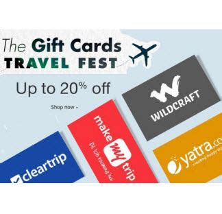 Travel And Get Amazon Gift Card - travel gift cards upto 25 discount amazon