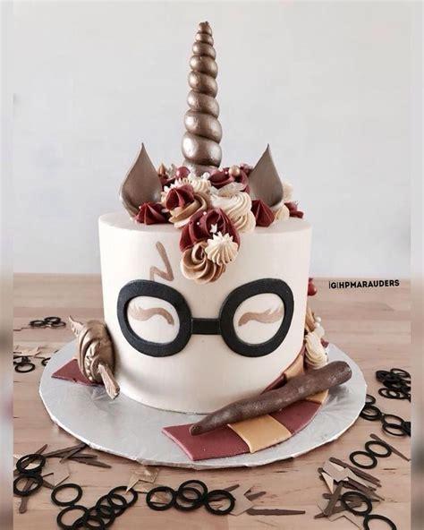 Harry Potter Unicorn birthday Cake   Unicorn Birthday