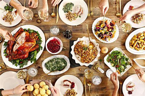food on the table thanksgiving menus saveur