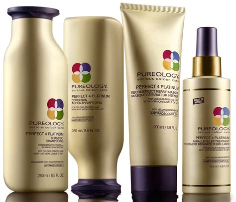 Product Review Mally Products 4 by Pureology 4 Platinum Range Reviews Productreview