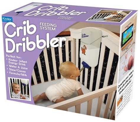 Crib Dribbler Prank Box the crib dribbler feeds your kid so you don t to ohgizmo