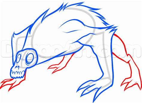 doodle how to make demons how to draw an evil monkey from temple run step by