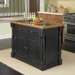 monarch kitchen island with granite top wayfair