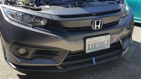 front lip thoughts 2016 honda civic forum 10th
