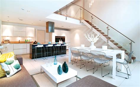 Kitchen Chandelier Ideas exquisite house in london with double volume space by lli